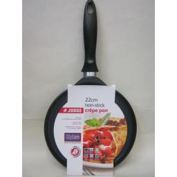 New Judge Crepe Pancake Omelette Frying Pan Non Stick All Hob Types 22ccm PP509