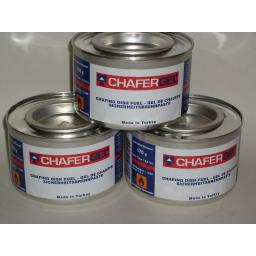 New Chafing Dish Chafer Gel Fuel 2.5 Hours Burn Pk3