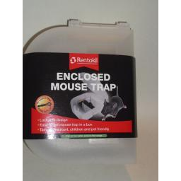 New Rentokil Lockable Enclosed Mouse Trap Killer PSE07