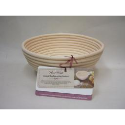 New Kitchen Craft Home Made Round Loaf Bread Dough Proving Basket