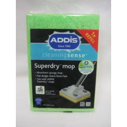 New Addis Superdry Sponge Floor Mop Refill 9586