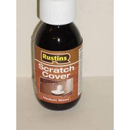 New Rustins Scratch Cover Polish 125ml Medium Furniture