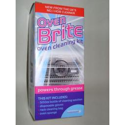 New Homecare Oven Brite Cleaning Kit Burnt Grease Fat