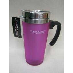 New Thermos Thermocafe Zest Travel Mug Beaker Cup 0.42L Pink