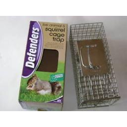 New Stv Defenders Squirrel Animal Cage Trap Live Catch Metal STV076
