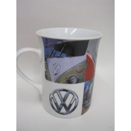New Volkswagen Photographic Lippy Mug Multiple Campers Licensed VW