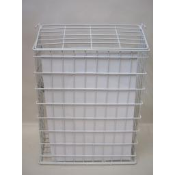 New Supahome Letter Box Cage Metal White Plastic Coated SHW10