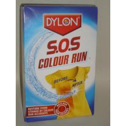 New Dylon Colour Run S O S Remover Machine Hand use 2 x 75ml