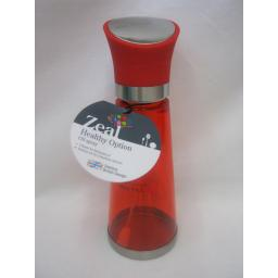 New Zeal Healthy Option Filtered Oil Pump Spray Mist Mister Red BA122