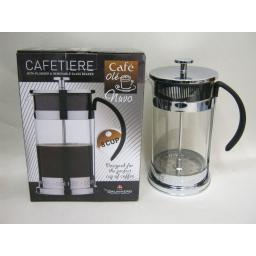 New Grunwerg Cafe Ole Nuvo Coffee Plunger Cafetiere 8 Cup CM-10CS