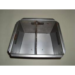 New Replacement Lift Out Ashpan For Baxi Burnall Coal Fire Ash Pan 18in