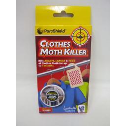 New Pestshield Hanging Clothes Moth Killer Cassette Hang Lavender Pk1