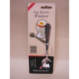 New Windsor Stainless Steel Boiled Egg Spoons Spoon Pk 2 2EGSWSR/C