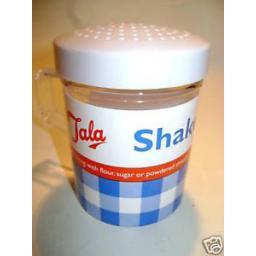 New Tala Plastic Flour Icing Sugar Chocolate Shaker Sprinkler