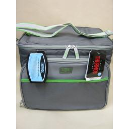New Thermos Insulated Cooler Cool Bag 24 Can 17 Litre Grey 155673