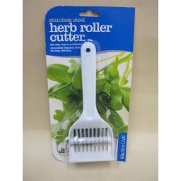 New Kitchen Craft Plastic Herb Roller Mint Cutter KCCUTMP