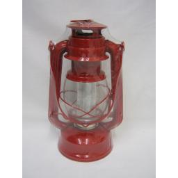 New Jingles Battery Operated LED Hanging Lantern Red