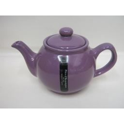 New Price And Kensington Small Pot Teapot 2 Cup Purple Lilac 0056.749