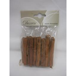 New Decoris Christmas Cinnamon Sticks 8cm 80g 708448 Approx 20-22