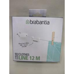 New Brabantia Clothes Washing Line Indoor Outdoor Use 12 M