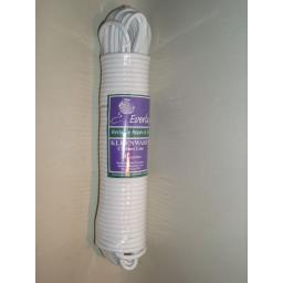 New Kleenwash Everlasto Plastic PVC Coated Washing Clothes Line 20 Metres