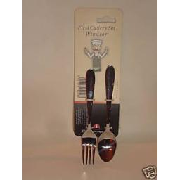 New Windsor First Cutlery Set Fork Spoon Childs Childrens