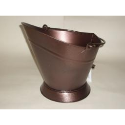 New Manor Copper Antique Coal Waterloo Bucket Fuel Hod 0364