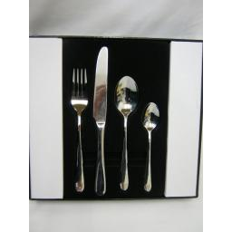 New Grunwerg Stainless Steel Cutlery Set 16 Piece Windsor Design 16BXWDR