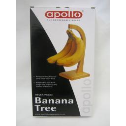 New Apollo Banana Tree Hook Rack Heavea Wood Flat Packed 6022