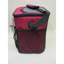 New Thermos Insulated Cooler Cool Bag 12 Can 12 Litre Burgundy 152687