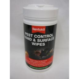 New Rentokil Pest Control Hand And Surface Wipes Pk50 FPW44