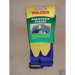 New Velcro Adjustable Straps 25mm x 46cm x 2 Straps 60328