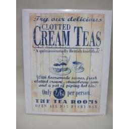 New The Tea Rooms Clotted Cream Teas Photo Picture Print 24cm x 30cm