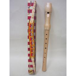 New Retro Games Traditional Musical Wooden Recorder RFS10230