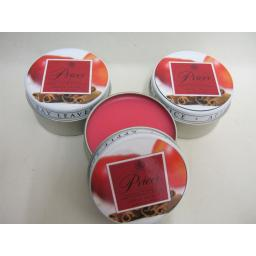New Prices Wax Scented Candle Apple Spice Tin Pk 3 Triple Pack