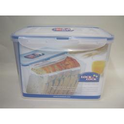 New Lock and & Lock Rectangular 3.9L Bread Food Container HPL829