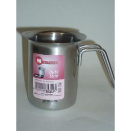 New Metaltex Stainless Steel Small Cream Milk Frothing Jug 0.2L 200ml