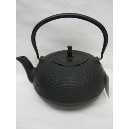 New Victor Large 1.5L Cast Iron Teapot Kettle Camping Black CWE060