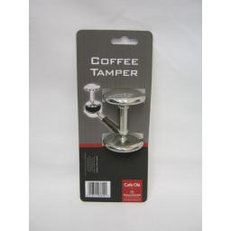 New Grunwerg Cafe Ole Stainless Steel Coffee Tamper CTAMP/C