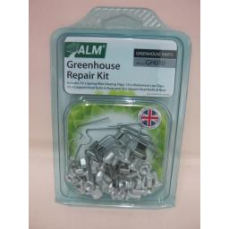 New ALM Greenhouse Service Repair Kit Spring Wire Glazing Clips GH010