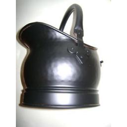 New Manor Black Coal Scuttle Bucket Fuel Hod Salisbury 322