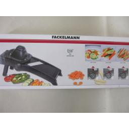 New Probus Fackelmann Professional Multi Purpose Mandolin Slicer Black 45336