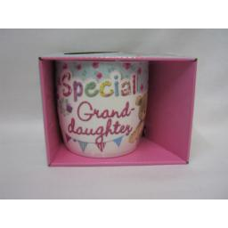 New BGC Fine China Mug Beaker Coffee Tea Cup Special Granddaughter KL0008