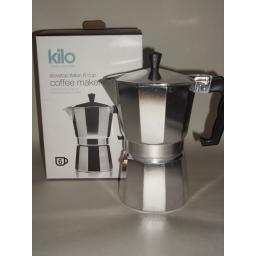 New Kilo Italian Stovetop Express Espresso Coffee Maker 6 Cup C16