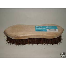 New Traditional Wood Scrubbing Brush Bassine 20cm