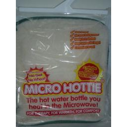 New Microwave Hottie Hot Water Bottle Lambswool Fleece Cover
