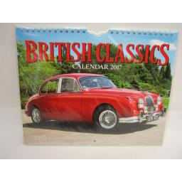 New Salmon Calendars Wall Calendar 2017 British Classics