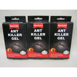 New Rentokil Ant Killer Gel Bait Station Box Trap 6 Traps FA105 3 Pks