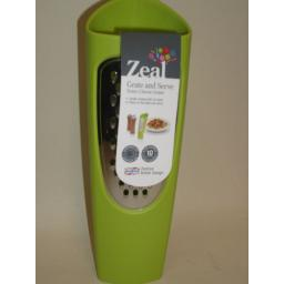 New Zeal Tower Cheese Grater Grate And Serve Lime Green H28