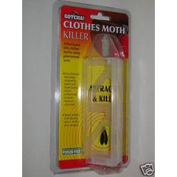 New STV Zero In Demi-Diamond Clothes Moth Killer Trap Lasts For 3 Months ZER437